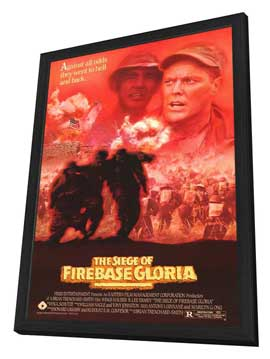 The Siege of Firebase Gloria - 11 x 17 Movie Poster - Style A - in Deluxe Wood Frame
