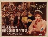The Sign of the Cross - 30 x 40 Movie Poster UK - Style A