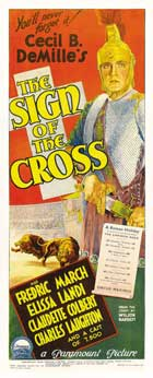The Sign of the Cross - 14 x 36 Movie Poster - Australian Style A