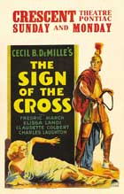 The Sign of the Cross - 27 x 40 Movie Poster - Style C