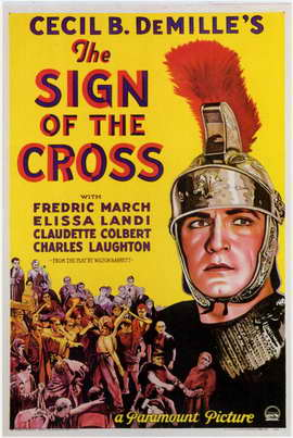 The Sign of the Cross - 11 x 17 Movie Poster - Style B