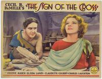 The Sign of the Cross - 11 x 14 Movie Poster - Style C
