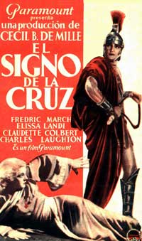 The Sign of the Cross - 11 x 17 Movie Poster - Spanish Style D