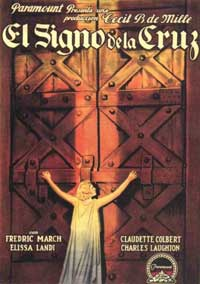 The Sign of the Cross - 11 x 17 Movie Poster - Italian Style A