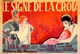 The Sign of the Cross - 11 x 17 Movie Poster - French Style B
