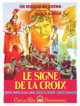 The Sign of the Cross - 11 x 17 Movie Poster - French Style C