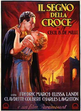 The Sign of the Cross - 11 x 17 Movie Poster - Italian Style B