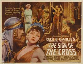 The Sign of the Cross - 11 x 14 Movie Poster - Style E
