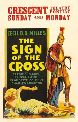The Sign of the Cross - 11 x 17 Movie Poster - Style D