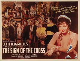 The Sign of the Cross - 11 x 14 Movie Poster - Style D