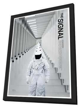 The Signal - 11 x 17 Movie Poster - Style A - in Deluxe Wood Frame