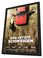 The Silence - 11 x 17 Movie Poster - German Style A - in Deluxe Wood Frame