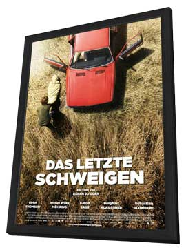The Silence - 27 x 40 Movie Poster - German Style A - in Deluxe Wood Frame