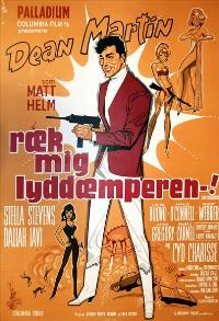 The Silencers - 11 x 17 Movie Poster - Danish Style A