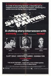 The Silent Partner - 43 x 62 Movie Poster - Bus Shelter Style A