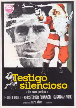 The Silent Partner - 11 x 17 Movie Poster - Spanish Style A