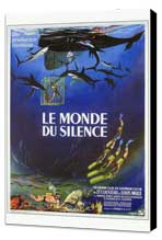 The Silent World - 27 x 40 Movie Poster - French Style A - Museum Wrapped Canvas