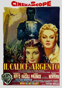 The Silver Chalice - 11 x 17 Movie Poster - Italian Style A