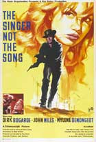 Singer Not The Song - 27 x 40 Movie Poster - UK Style A