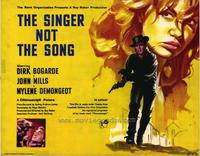 Singer Not The Song - 22 x 28 Movie Poster - Half Sheet Style A