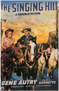 The Singing Hill - 27 x 40 Movie Poster - Style B
