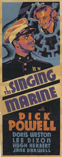 The Singing Marine - 27 x 40 Movie Poster - Style A