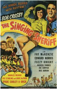 The Singing Sheriff - 43 x 62 Movie Poster - Bus Shelter Style A