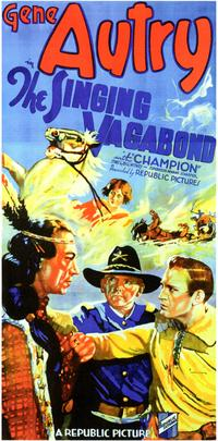 The Singing Vagabond - 27 x 40 Movie Poster - Style B