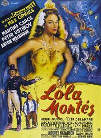 The Sins of Lola Montes - 11 x 17 Movie Poster - French Style A