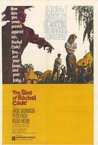 Sins of Rachel Cade - 27 x 40 Movie Poster - Style A