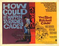 Sins of Rachel Cade - 22 x 28 Movie Poster - Half Sheet Style A