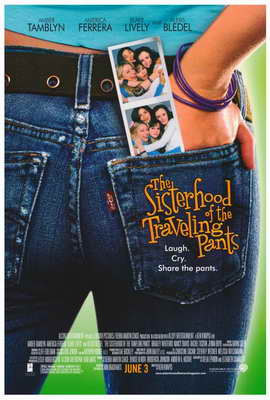 The Sisterhood of the Traveling Pants - 27 x 40 Movie Poster - Style A