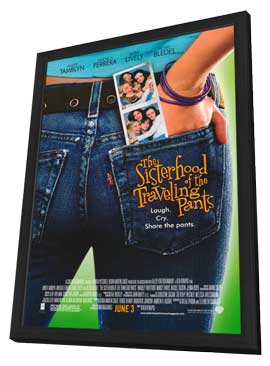 The Sisterhood of the Traveling Pants - 11 x 17 Movie Poster - Style A - in Deluxe Wood Frame