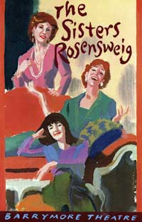 The Sisters Rosenweig (Broadway) - 11 x 17 Poster - Style A