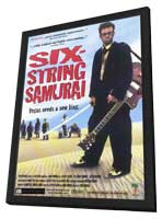 Six-String Samurai - 11 x 17 Movie Poster - Style A - in Deluxe Wood Frame