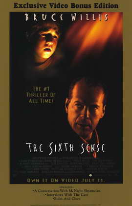 The Sixth Sense - 11 x 17 Movie Poster - Style C