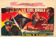 The Sky Burns - 27 x 40 Movie Poster - Belgian Style A