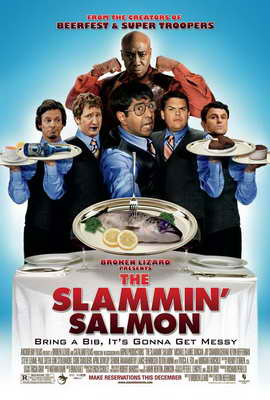 The Slammin' Salmon - 11 x 17 Movie Poster - Style A