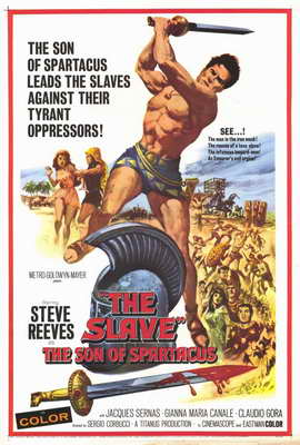 The Slave Son of Spartacus - 11 x 17 Movie Poster - Style A