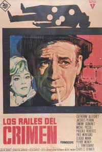 The Sleeping Car Murder - 11 x 17 Movie Poster - Spanish Style A