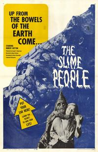 The Slime People - 11 x 17 Movie Poster - Style A