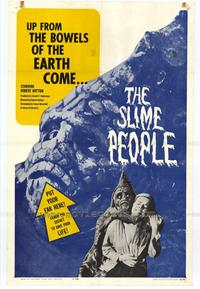 The Slime People - 27 x 40 Movie Poster - Style A