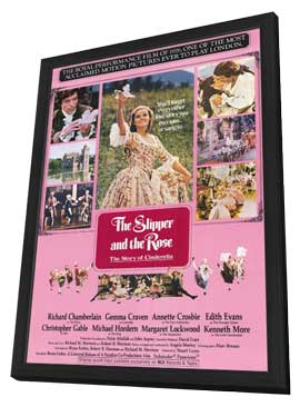 The Slipper and the Rose - 11 x 17 Movie Poster - Style A - in Deluxe Wood Frame