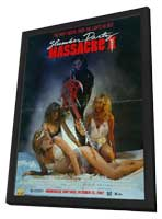 The Slumber Party Massacre - 27 x 40 Movie Poster - Style A - in Deluxe Wood Frame