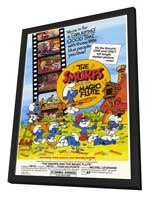 Smurfs and the Magic Flute - 11 x 17 Movie Poster - Style A - in Deluxe Wood Frame
