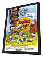 Smurfs and the Magic Flute - 27 x 40 Movie Poster - Style A - in Deluxe Wood Frame