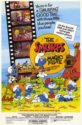 Smurfs and the Magic Flute - 11 x 17 Movie Poster - Style A