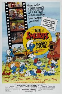 Smurfs and the Magic Flute - 43 x 62 Movie Poster - Bus Shelter Style A