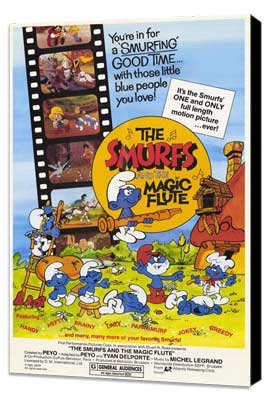 Smurfs and the Magic Flute - 11 x 17 Movie Poster - Style A - Museum Wrapped Canvas