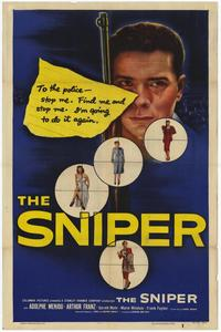 The Sniper - 27 x 40 Movie Poster - Style A